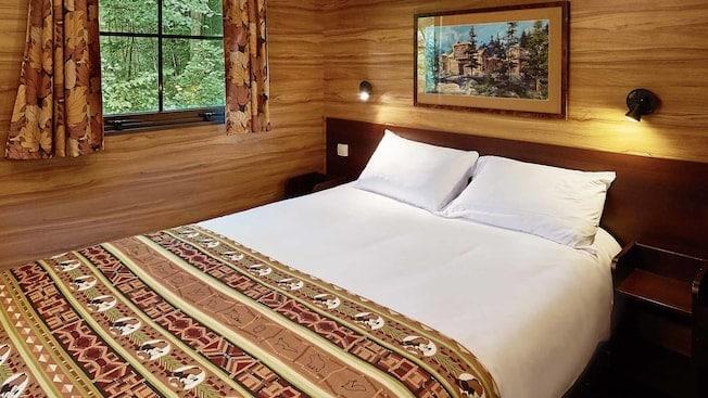 Hotelkamer van Disney's Davy Crockett Ranch in Marne-la-Vallée, Parijs, Frankrijk