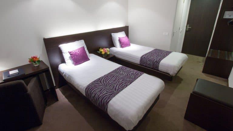 Hotelkamer van Hotel Gieling in Duiven, Gelderland, Nederland