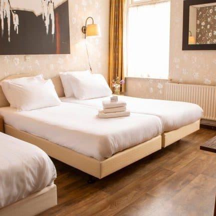 Hotelkamer van Hotel Restaurant Hof van Twente in Hengevelde, Overijssel, Nederland