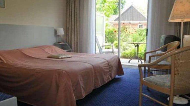 Hotelkamer van Hotel 't Wapen van Ootmarsum in Ootmarsum, Overijssel, Nederland