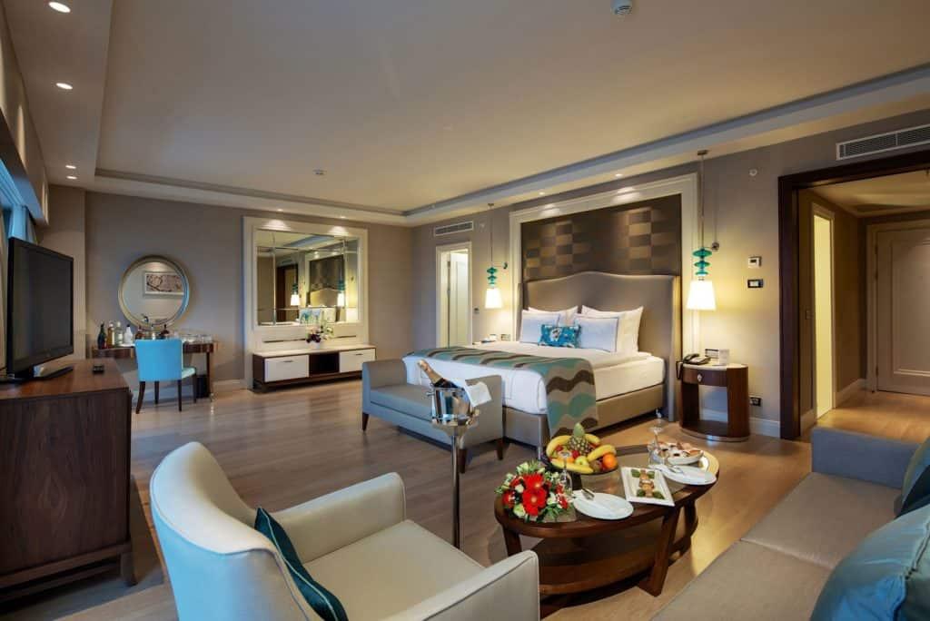 Hotelkamer van Titanic Deluxe in Belek, Turkije