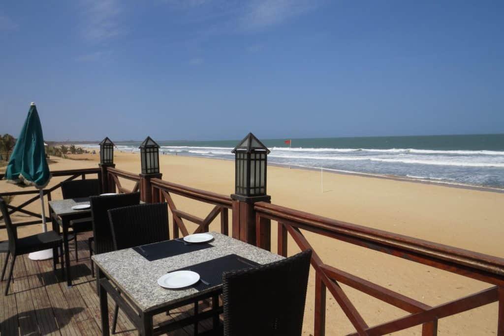 Ligging van Coco Ocean Resort & Spa in Bijilo, Western, Gambia