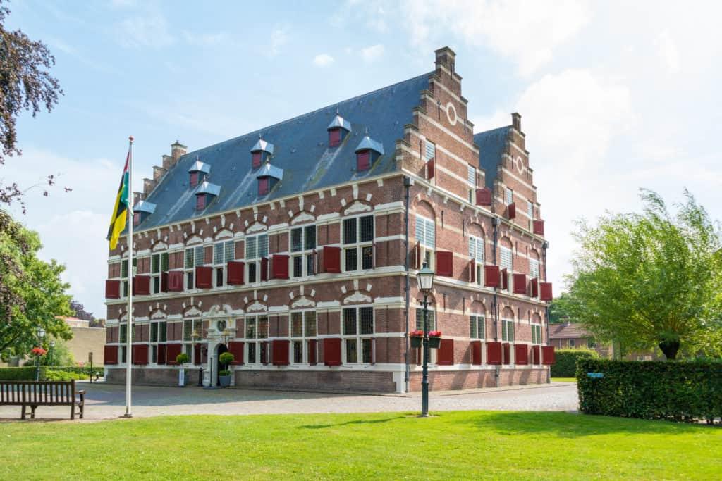 Museum Mauritshuis in Willemstad, Noord-Brabant
