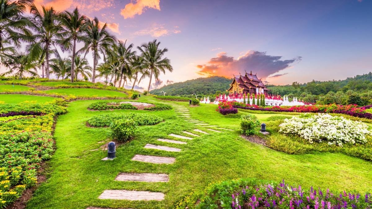 Paviljoen van Chaing Mai, Thailand
