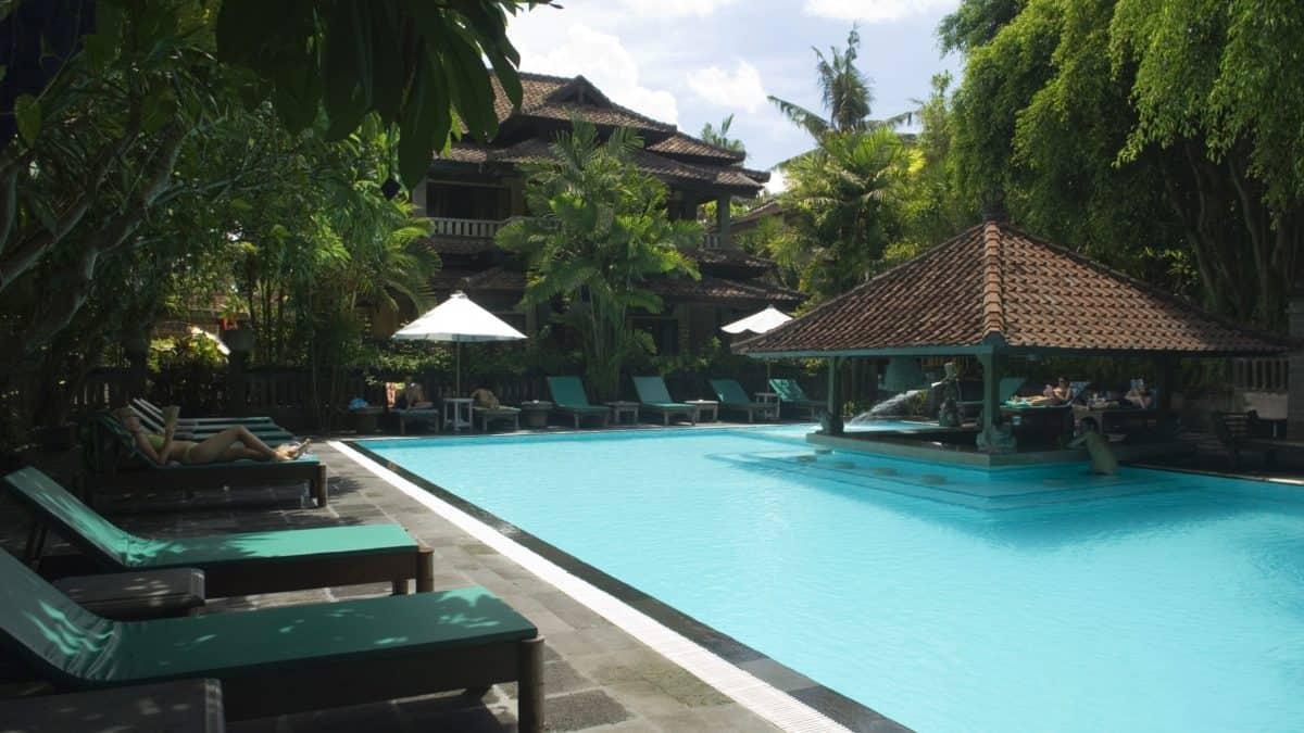 Puri Bambu Hotel in Jimbaran, Bali, Indonesië