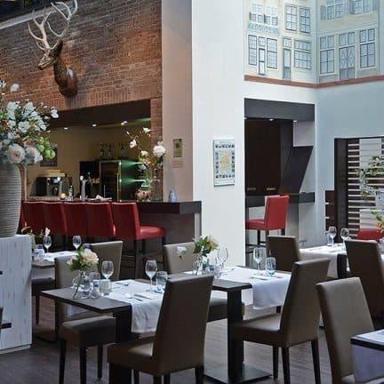 Restaurant van Best Western PLUS City Hotel Gouda in Gouda, Zuid-Holland, Nederland