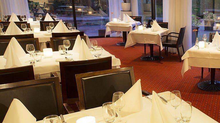 Restaurant van Bilderberg Hotel Wolfheze in Wolfheze, Gelderland, Nederland