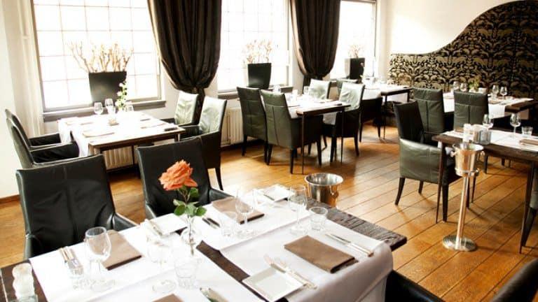 Restaurant van Hotel de Korenbeurs in Made, Noord-Brabant