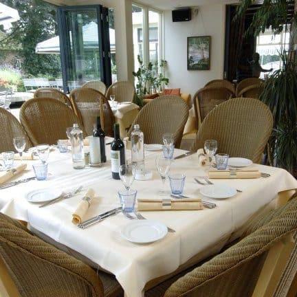 Restaurant van Hotel Restaurant Hof van Twente in Hengevelde, Overijssel, Nederland