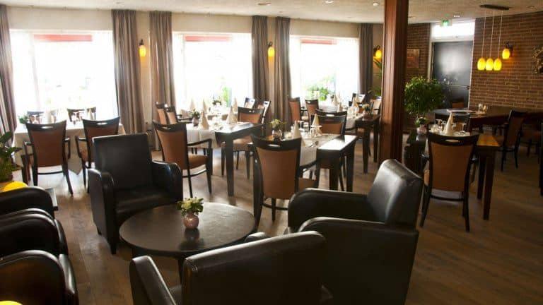 Restaurant van Hotel Steensel in Steensel, Noord-Brabant