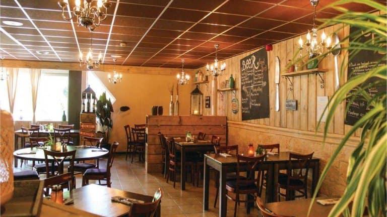 Restaurant van 't Hooge Holt in Gramsbergen, Overijssel, Nederland