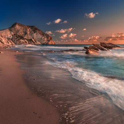 Strand Paradise Beach in Kefalos op Kos, Griekenland