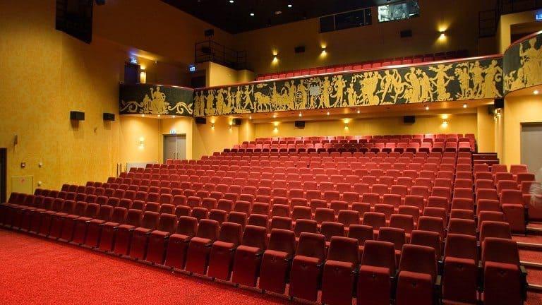 Theaterzaal van Hotel Theater Figi in Zeist, Utrecht