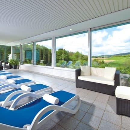 Wellness van Seehotel am Stausee in Gerolstein, Rijnland-Palts, Duitsland