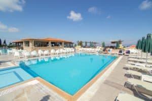 Zwembad van Aegean View Aqua Resort in Kos-Stad, Kos, Griekenland