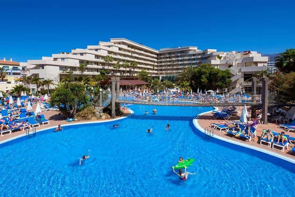 Zwembad van Best Tenerife in Playa de las Américas, Tenerife, Spanje