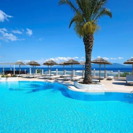 Zwembad van Dimitra Beach in Agios Fokas, Kos