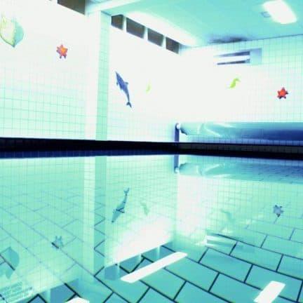 Zwembad van Golden Tulip Strandhotel Westduin in Vlissingen, Zeeland, Nederland