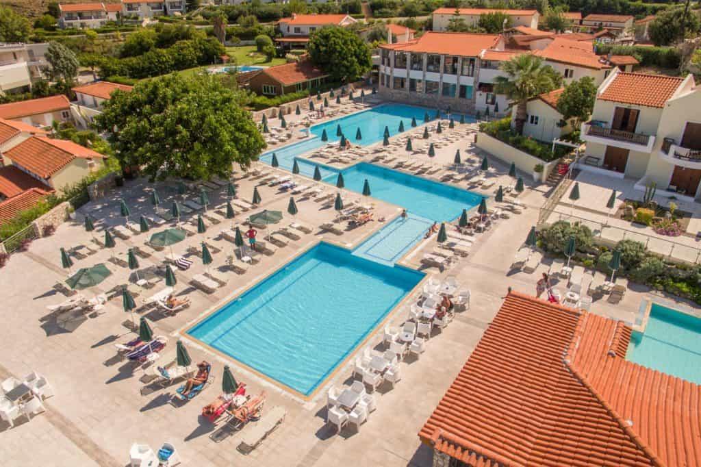 Zwembaden van Aegean View Aqua Resort in Kos-Stad, Kos, Griekenland