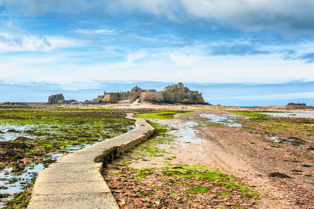 Elizabeth Castle in Saint Helier op Jersey