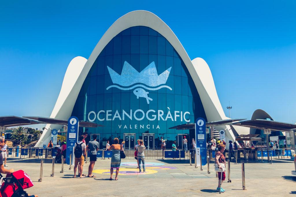 Oceanografic in Valencia, Spanje