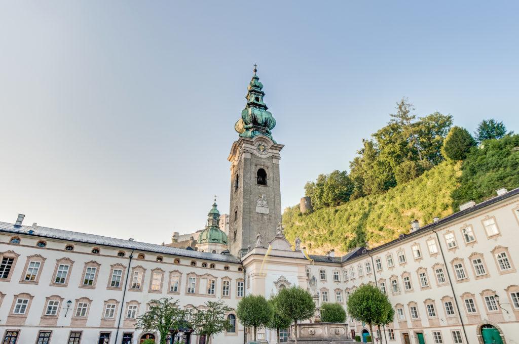 Benedictijnerabdij St. Peter in Salzburg, Oostenrijk