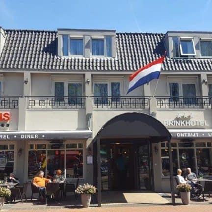 Brinkhotel in Zuidlaren, Drenthe, Nederland