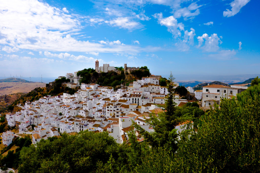 Casares in Andalusie, Spanje