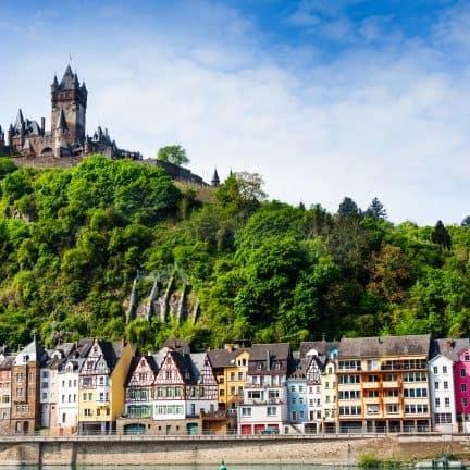 Cochem aan de Moezel in Duitsland