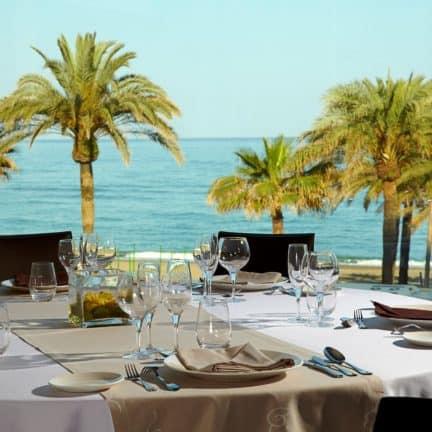 Diner van Melia Costa Del Sol in Torremolinos, Costa del Sol, Spanje