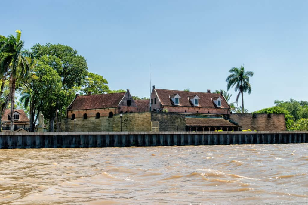 Fort Zeelandia in Paramaribo, Suriname