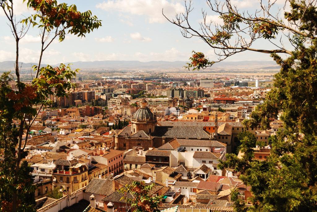 Granada in Andalusie, spanje
