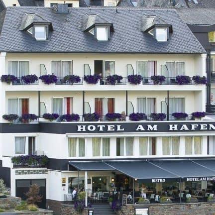 Hotel am Hafen in Cochem, Rijnland-Palts, Duitsland