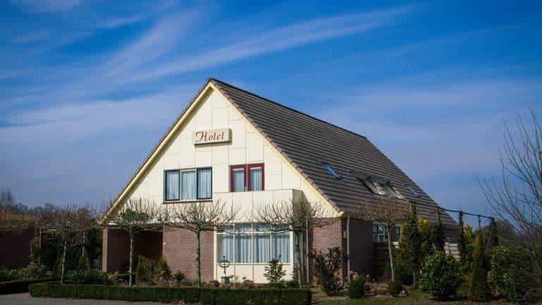 Hotel en Restaurant het Roode Hert in Dalfsen, Overijssel, Nederland