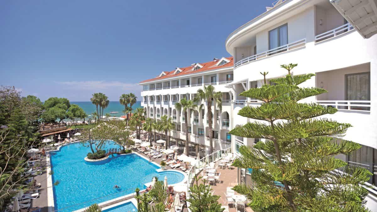 Hotel Side Star Beach in Side, Turkse Rivièra, Turkije