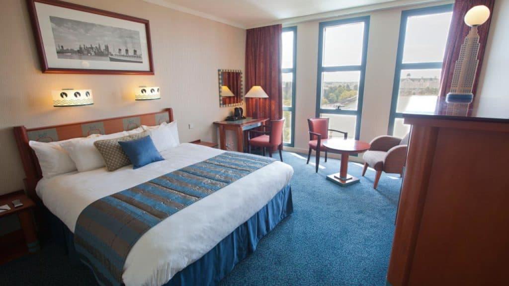 Hotelkamer van Disney's Hotel New York in Marne-la-Vallée, Parijs, Frankrijk