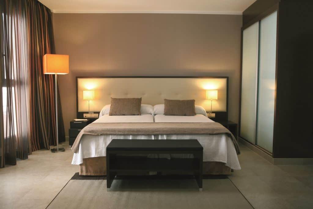 Hotelkamer van Gran Hotel Sol Y Mar in Calpe, Costa Blanca, Spanje