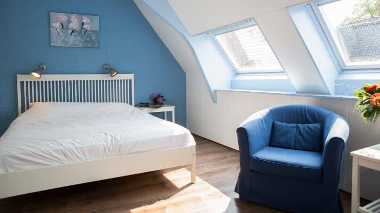 Hotelkamer van Landhotel De Hoofdige Boer in Almen, Gelderland, Nederland