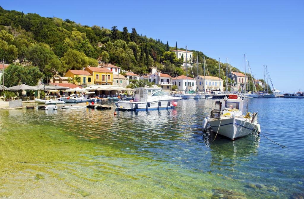 Haven van Kioni op Ithaka, Griekenland