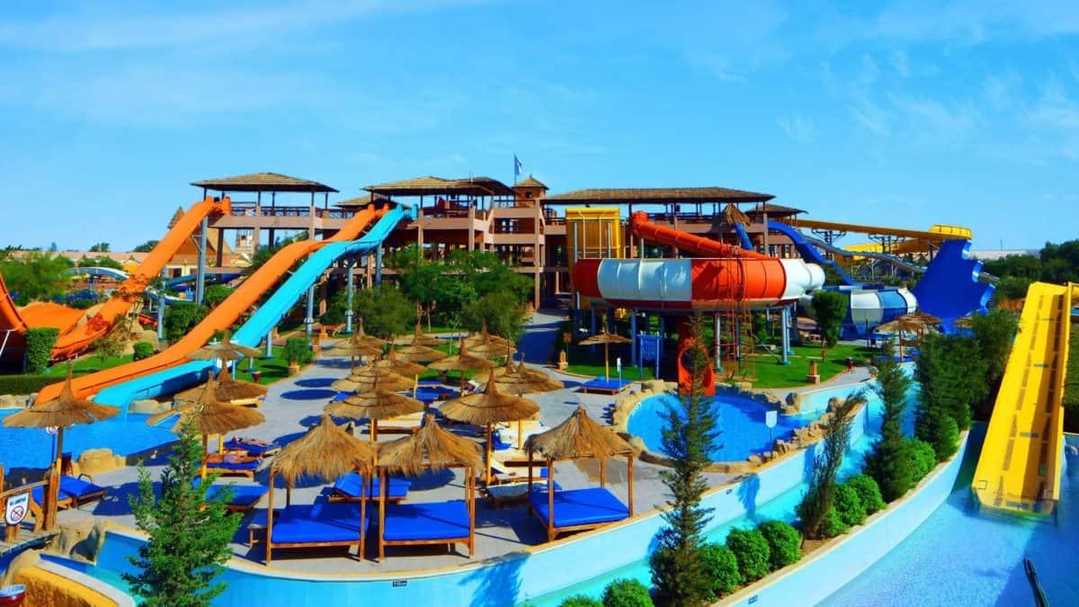 Jungle Aqua Park in Hurghada, Rode Zee, Egypte