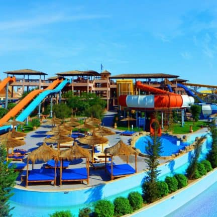 Jungle Aqua Park in Hurghada, Rode Zee, Egypte