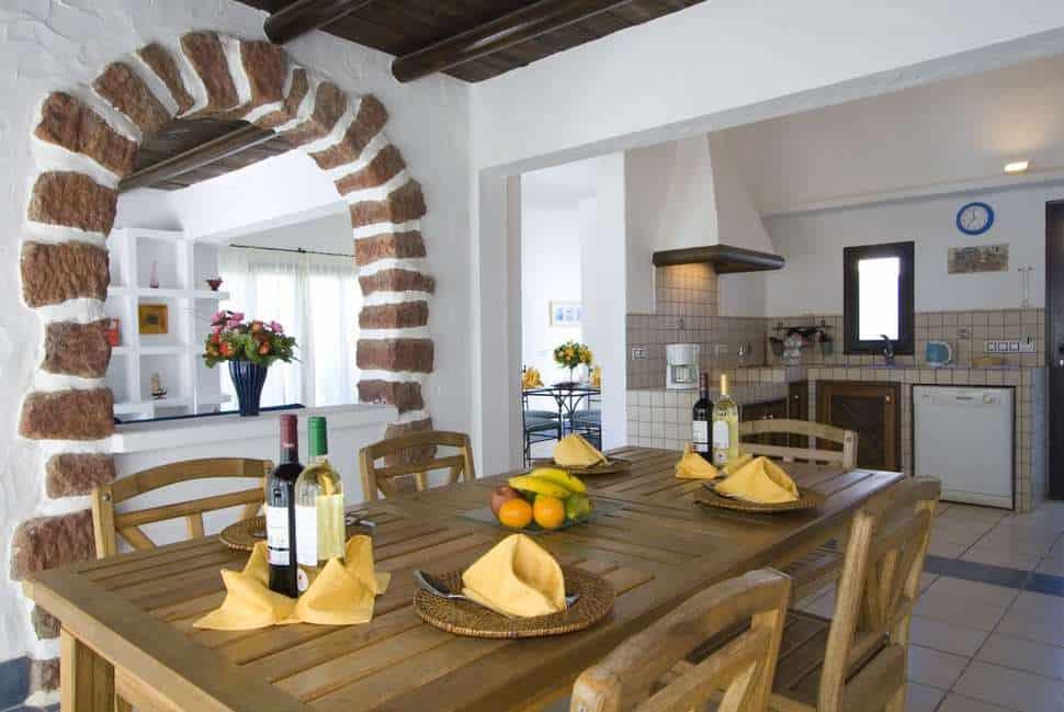 Keuken van Villas Kamezi in Playa Blanca, Lanzarote, Spanje