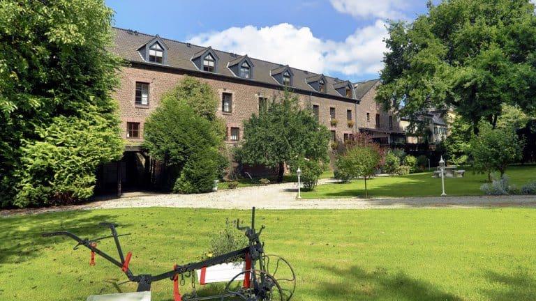 Landhaus Danielshof in Bedburg, Noordrijn-Westfalen, Duitsland
