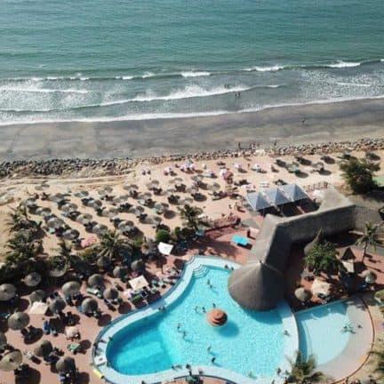 Senegambia Beach Hotel in Kololi, Western, Gambia