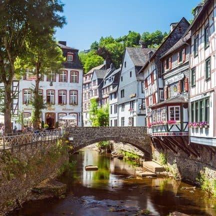 Monschau, Noordrijn-Westfalen, Duitsland