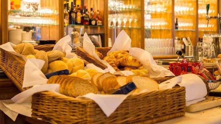 Ontbijt van Brinkhotel in Zuidlaren, Drenthe, Nederland