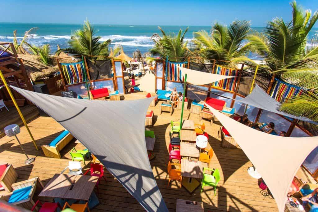 Poco Loco Beach Bar in Gambia