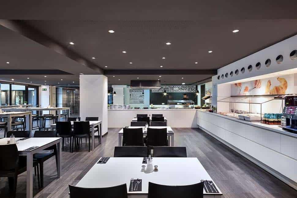 Restaurant van Andante Hotel in Barcelona, Costa del Maresme, Spanje
