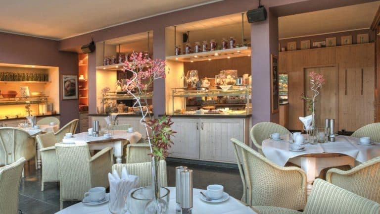 Restaurant van Hotel Carpe Diem in Kirchhundem, Noordrijn-Westfalen, Duitsland