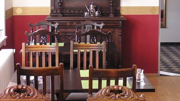 Restaurant van Hotel Villa OpdenSteinen in Goslar, Nedersaksen, Duitsland